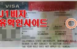 [미국] 방문연구원 J1비자 합격!